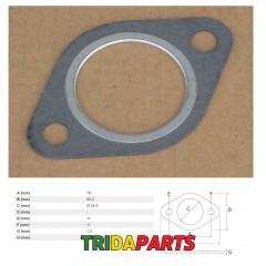 Прокладка колектора двигуна JD R521439 / R90658 / T20006