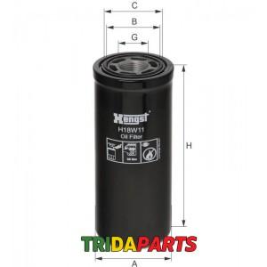 Фільтр гідравлічний H18W11 (HENGST) AL118036