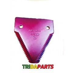 Сегмент ножа жатки CLAAS 611203 груба насечка (AGV)