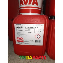 Масло Hydrofluid DLZ (UTTO) 20л. (AVIA)