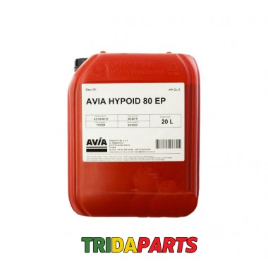 Масло AVIA Hypoid 80EP 20л.