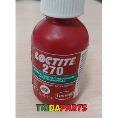 Клей-фіксатор різьбових з'єднань 10мл LOCTITE 270  (LOCTITE)