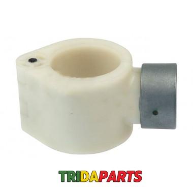 Втулка пальця шнека з накладкою (AGV) (H169911) AH171602+H169912