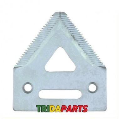 Сегмент коси жатки (крупний зуб) H136807 (HEAVY PARTS)