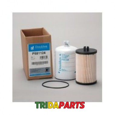 Фільтр паливний P551124 (Donaldson) RE525523 набор тонкой и грубой