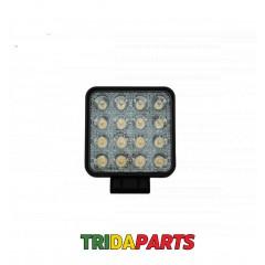 Фара дадаткова LED 48W (16x3W Epistar) квадратна, 3070ml 9-32V ( Flood) 950-990310015