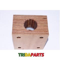 Підшипник дерев'яний AZ31217 - 38 мм AZ28804/Z41561/AZ30510 вала соломотряса JD 975/1072/1075