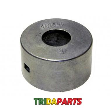 Накладка втулки пальця шнека H169912.Z124 (AGV)