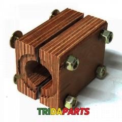 Підшипник соломотряса дерев'яний d=35 мм (AGV) 678258 / 618258