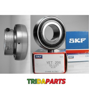 Підшипник YET206  AG (SKF)